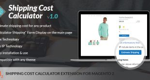 Magento 2 shipping calculator extension