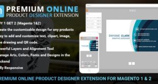 Online-Product-Design-Extension