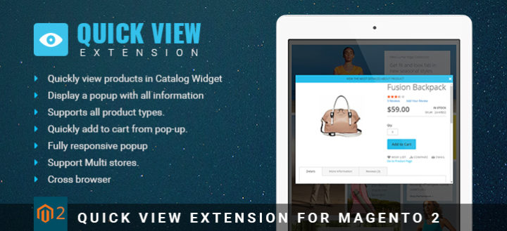 Amazing benefits of using Magento 2 Quick view extension