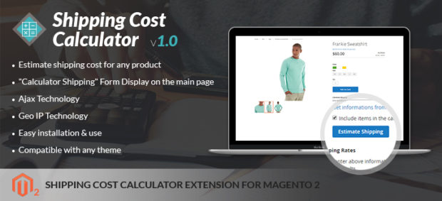Hot items released: Magento 2 Shipping calculator module form Netbase